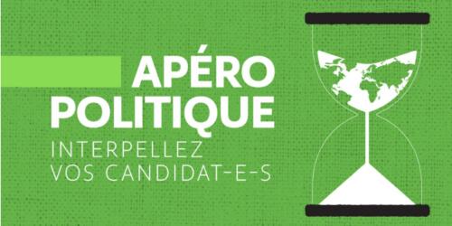 Caritas International Belgique La solidarité internationale à l'heure des élections: apéro politique