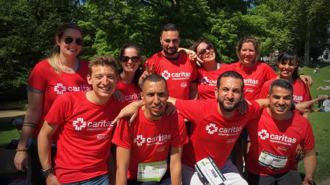 Caritas International Belgique 15 km de Liège: une course solidaire