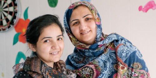 Caritas International België Vrouw en vluchteling: geef hen zichtbaarheid op deze Internationale dag van de vrouw