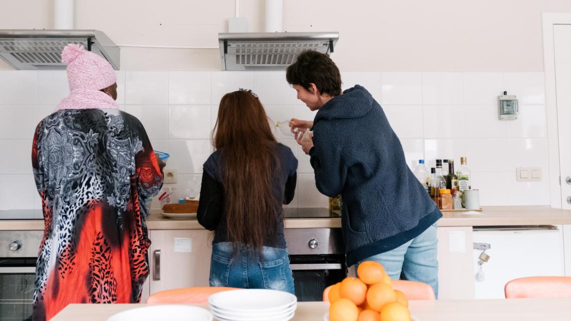 Caritas International Belgique «Apprendre à faire confiance aux gens petit à petit»