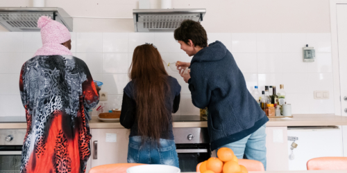 """Caritas International België """"Beetje bij beetje terug leren om mensen te vertrouwen"""""""