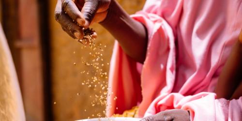 Caritas International België Waar blijft de politieke actie in de strijd tegen honger?