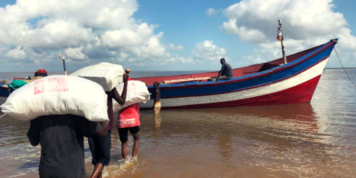 Caritas International Belgique Cyclone Idai : update depuis le Mozambique
