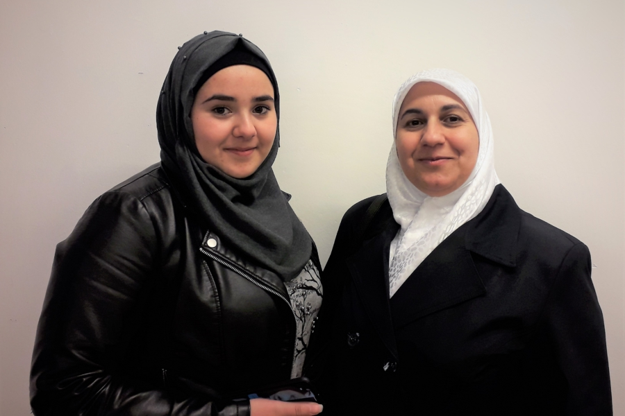 Caritas International Belgique L'histoire de Souad et Heba