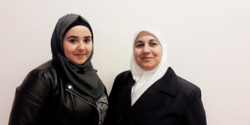 Caritas International België Het verhaal van Souad en Heba