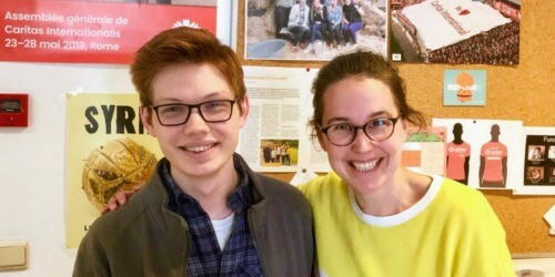 Caritas International Belgium Meet Michael: Our American Intern