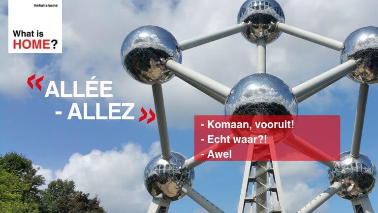 <p>Allez of allée is een uitdrukking die in heel België gebruikt wordt, maar met andere schrijfwijzen in het Frans of Nederlands. De uitdrukking heeft heel wat betekenissen (Komaan, vooruit! Echt waar?! Awel) en wordt soms zelf gebruikt zonder echt iets te betekenen.</p>