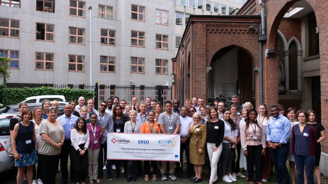 Caritas International Belgium Reintegration partners in Brussels