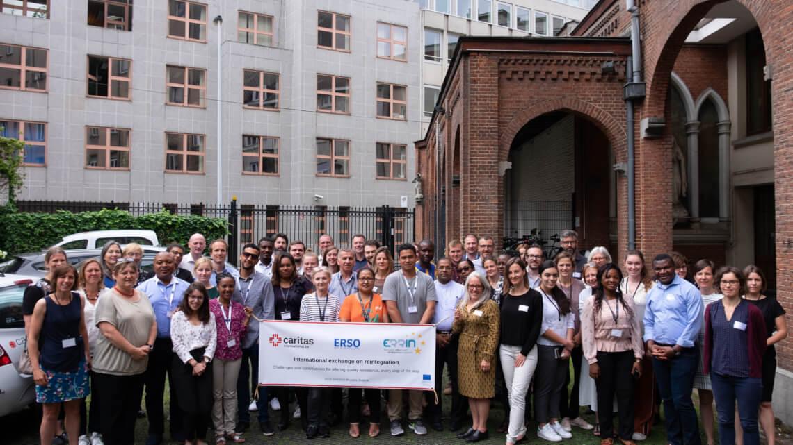 Caritas International Belgique Nos partenaires réintégration en visite