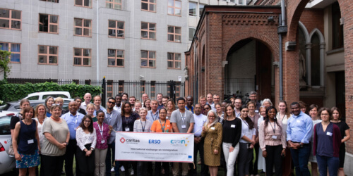Caritas International Belgium Reintegration partners in Brussels