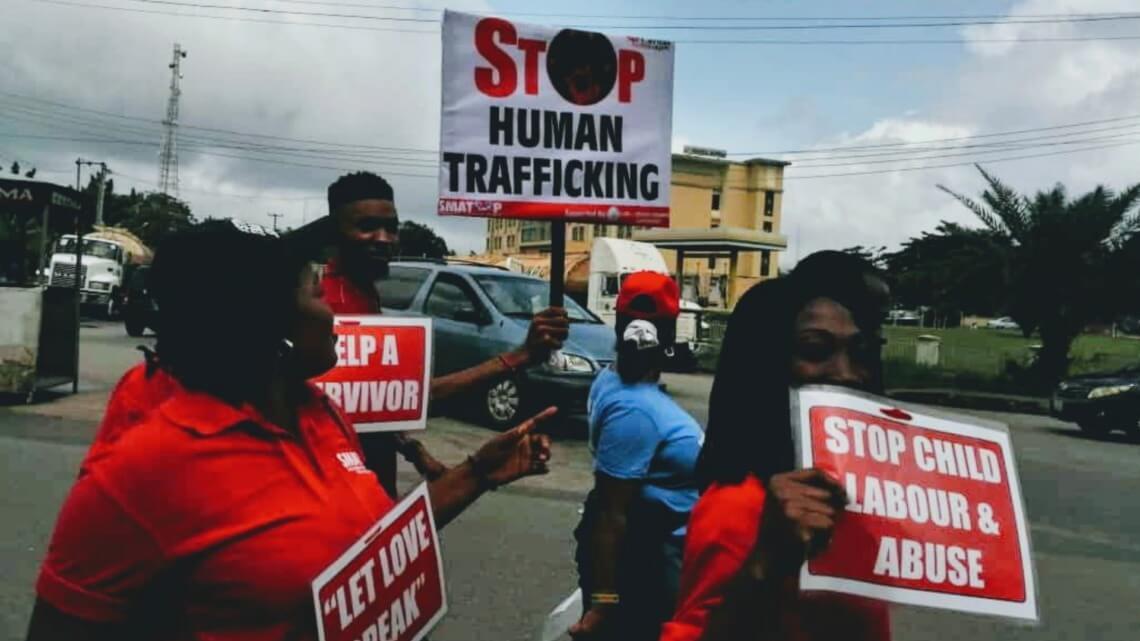 Caritas International België Internationale dag voor de strijd tegen mensenhandel