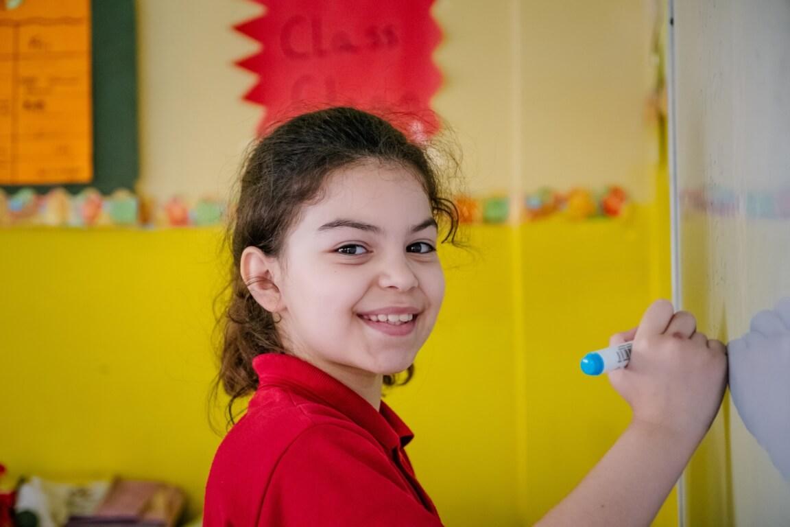 Caritas International België Julie, 8 jaar en half,