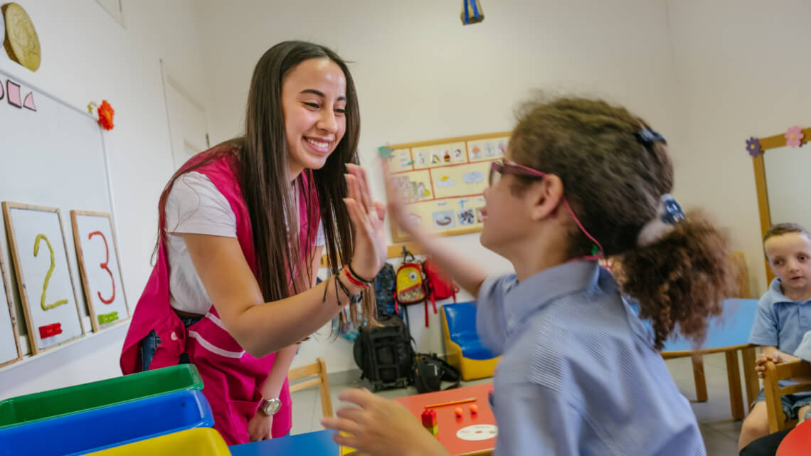 Caritas International België Special needs: onderwijs voor kinderen met een beperking