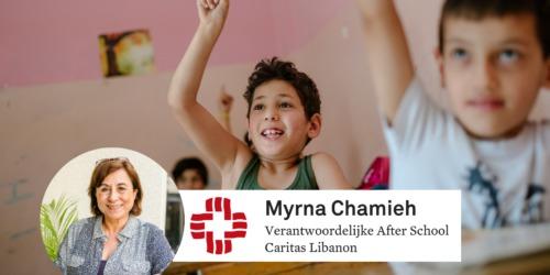 Caritas International België Na school bijleren om bij te benen