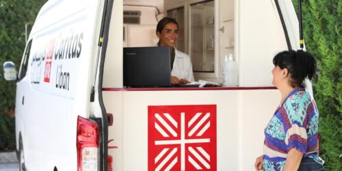 Caritas International België Mobiele klinieken voor dringende medische noden