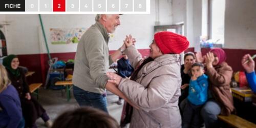 Caritas International België Fiche 2: Stoelendans – vluchtelingen
