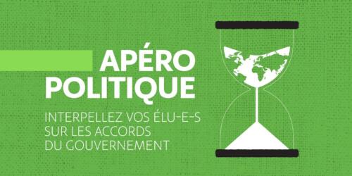 Caritas International Belgique L'accord du gouvernement bruxellois à la loupe: apéro politique