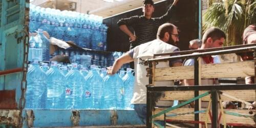Caritas International Belgique Invasion turque en Syrie: plus de 150.000 personnes prennent la fuite