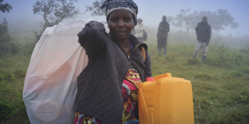 Caritas International België Oost-Congo: wat als alles je ontnomen is?