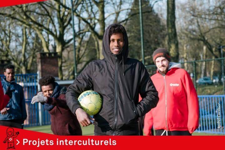 Caritas International BelgiqueAu côté des personnes réfugiées et migrantes à Liège