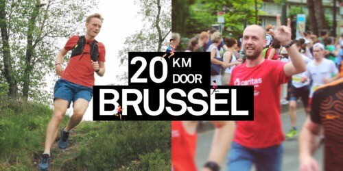 Caritas International België Maak kennis met twee lopers van de 20 kilometer door Brussel