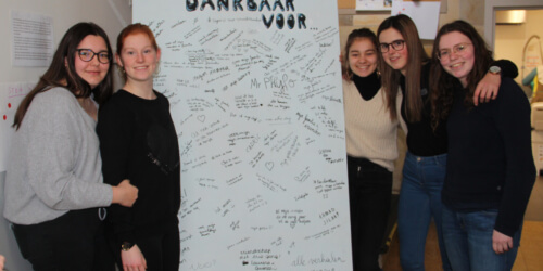 "Caritas International België Geslaagd slotmoment van het schoolproject ""My school on the move"""