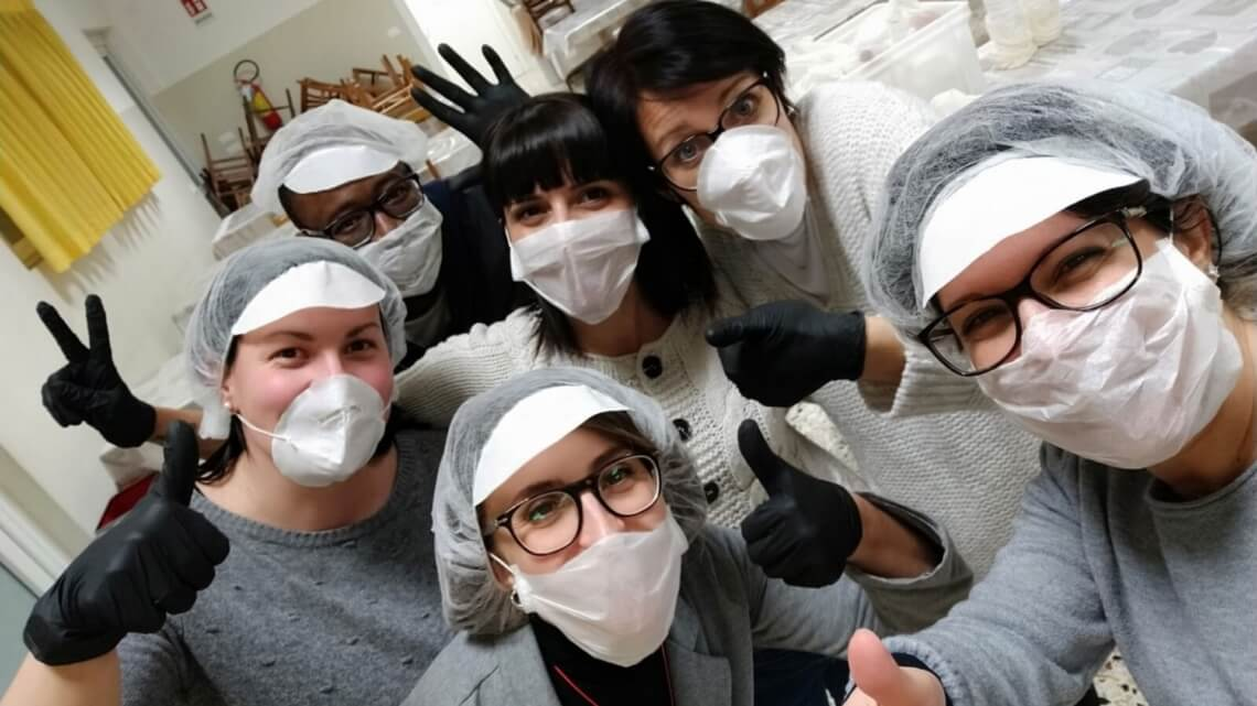 Caritas International Belgium Coronavirus: always there, despite the pandemic