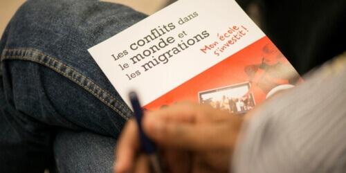 Caritas International Belgique Projet – Mon école s'investit!