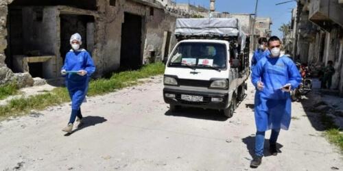 Caritas International België Coronavirus: een crisis te veel in het Midden-Oosten?