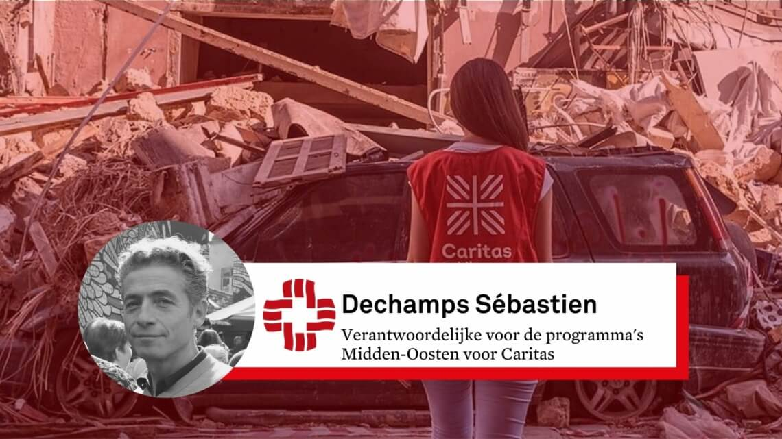Caritas International België 5 vragen om de huidige situatie in Beiroet beter te begrijpen