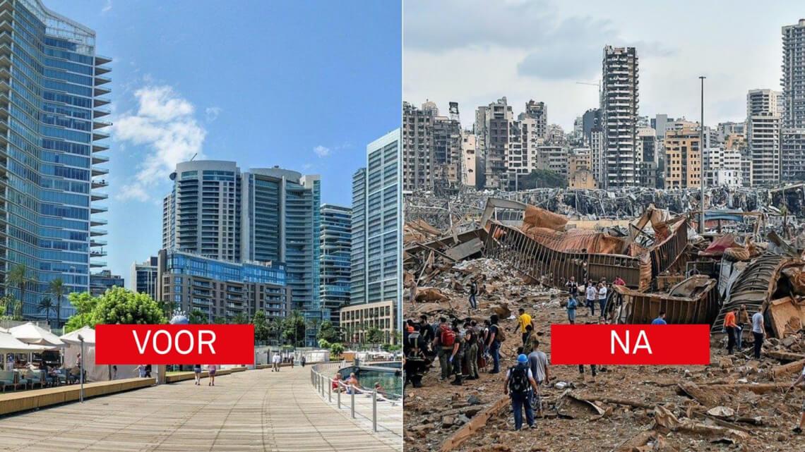 Caritas International België De verwoestende explosie in Beiroet