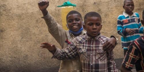 Caritas International Belgique RD Congo: les rêves de milliers d'enfants des rues en danger