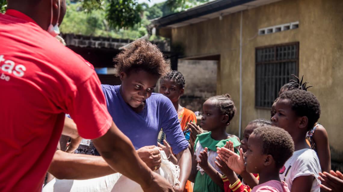 Caritas International België Covid-19: dringende hulp voor straatkinderen