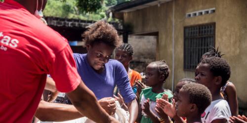 Caritas International Belgique Covid-19: aide d'urgence pour les enfants des rues