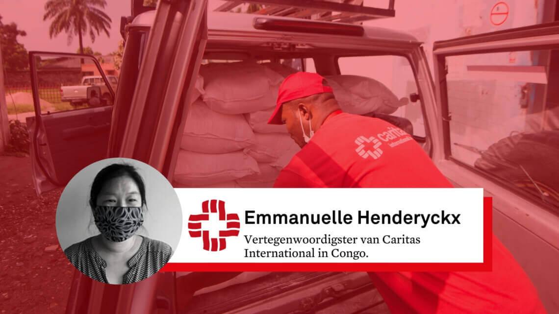 """Caritas International België Coronavirus in DR Congo: """"De economische impact is enorm"""""""