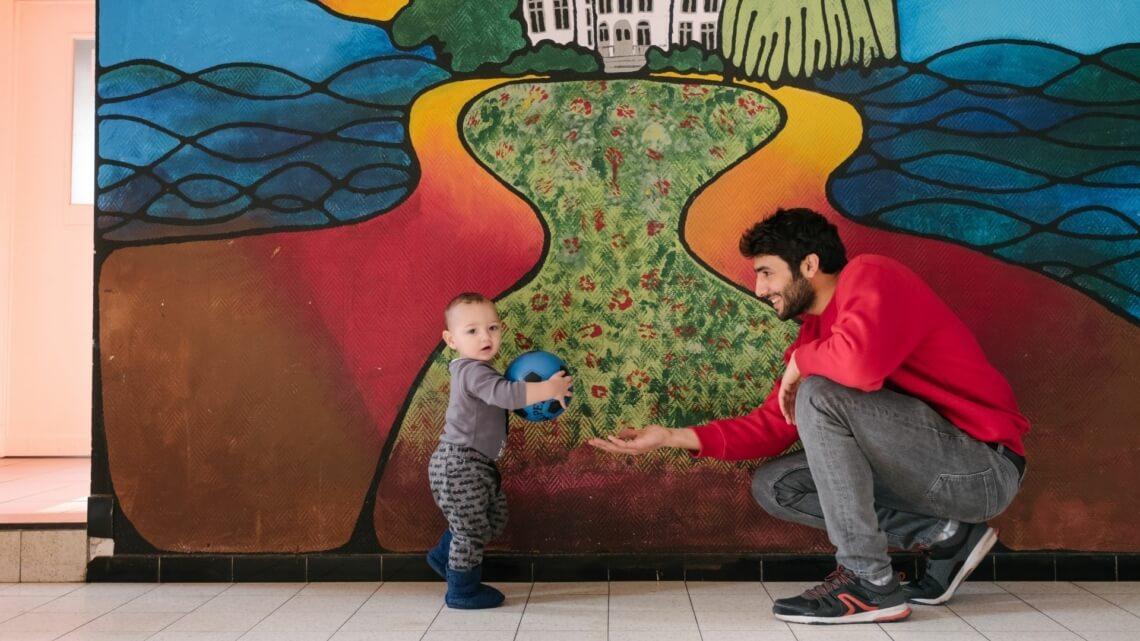 Caritas International België Opvang voor de kleinste bewoners in Scherpenheuvel