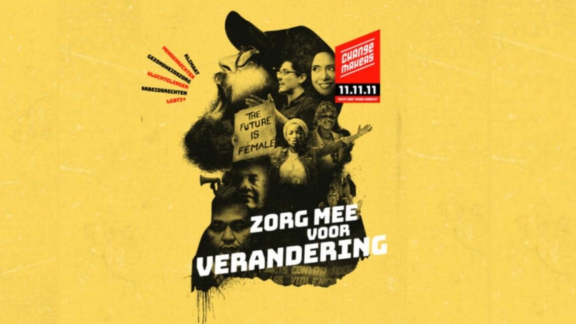 Caritas International België 11.11.11 vraagt ook in 2020 aandacht voor changemakers