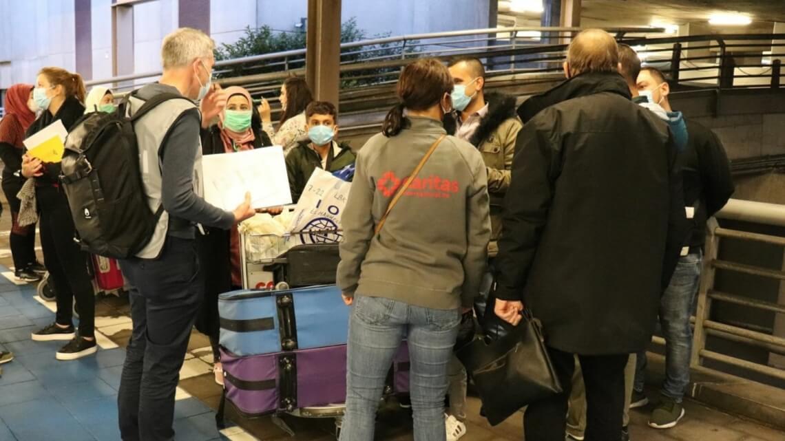 "Caritas International België ""Community Sponsorship"" voor hervestigde vluchtelingen"