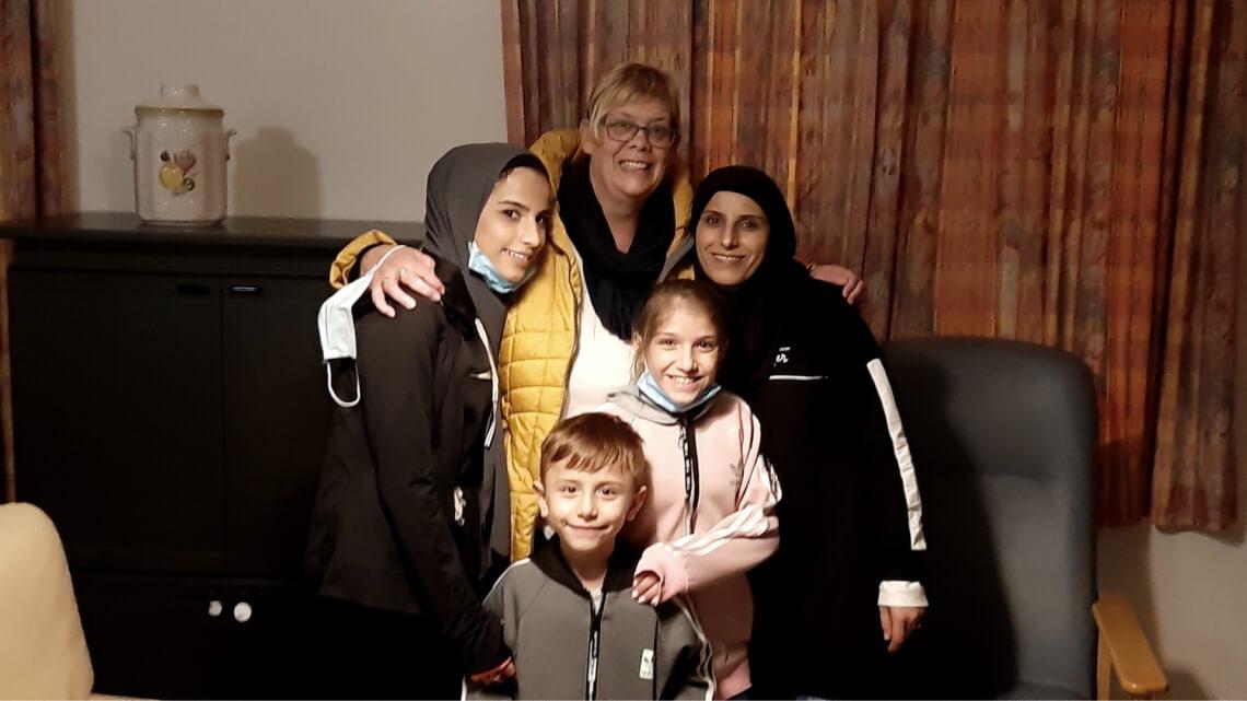 Caritas International Belgique Groupe d'accueil solidaire pour des réfugié-e-s syrien-ne-s: «Un énorme sentiment de satisfaction»