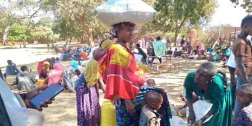 Caritas International België Sprinkhanen, covid en conflict: meer voedselonzekerheid