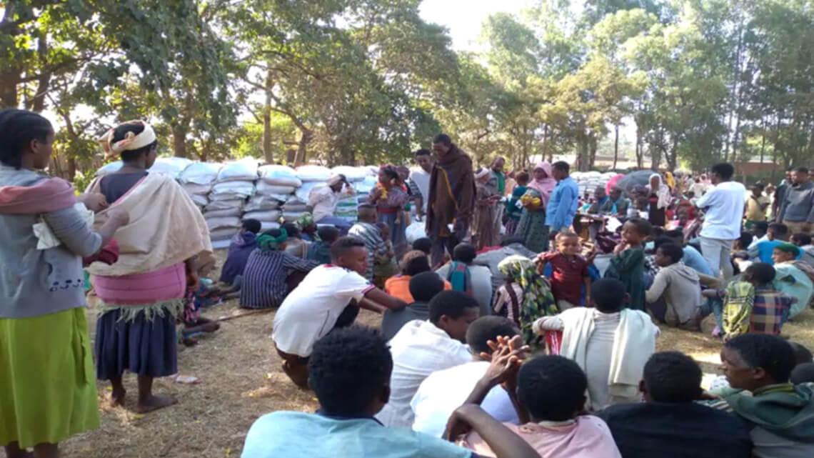 Caritas International Belgique Aide humanitaire aux personnes réfugiées venues d'Éthiopie