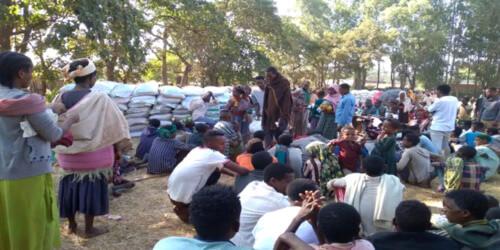 Caritas International België Humanitaire hulp voor Ethiopische vluchtelingen