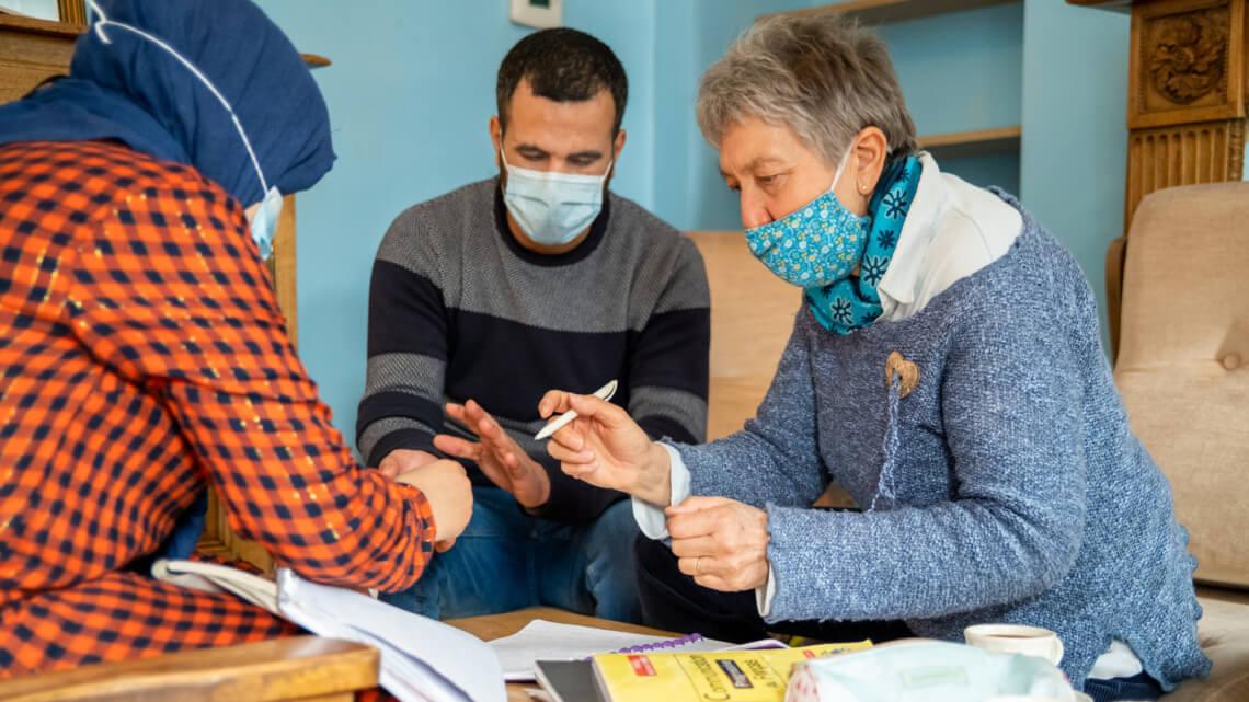 Caritas International Belgique Community sponsorship: une aventure humaine et solidaire. Témoignages.