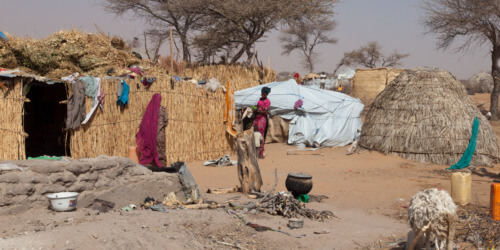 Caritas International België Humanitaire hulp en opbouw weerbaarheid ontheemden in Niger