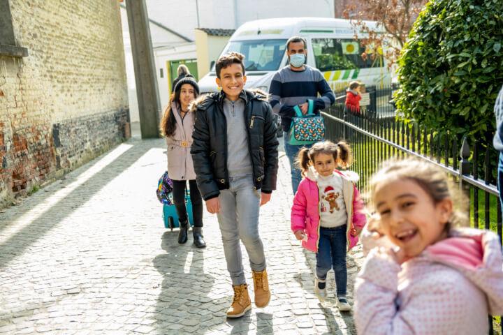Caritas International BelgiqueUn accueil en famille