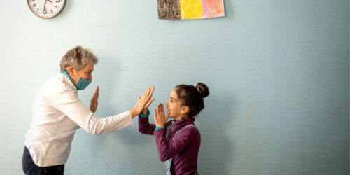 Caritas International België Als familie onthaald