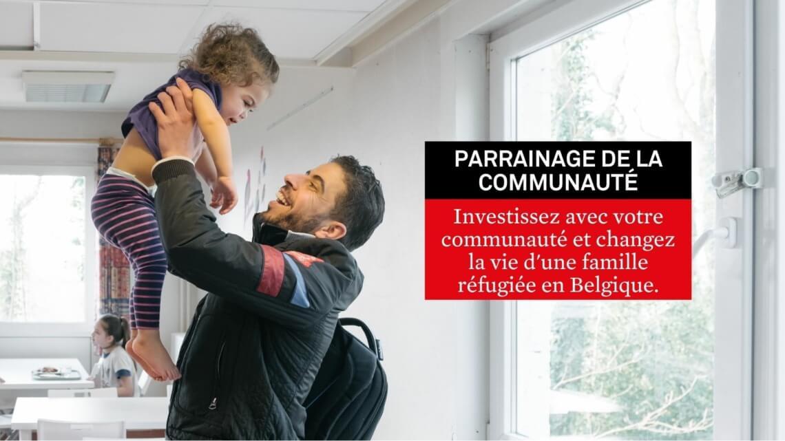 Vous investir aux côtés d'une famille de personnes réfugiées?