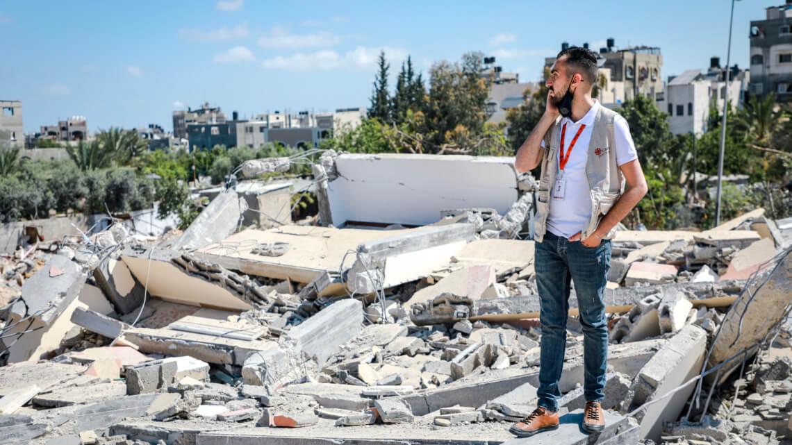 Caritas International België Gaza: medische noodhulp na het staakt-het-vuren