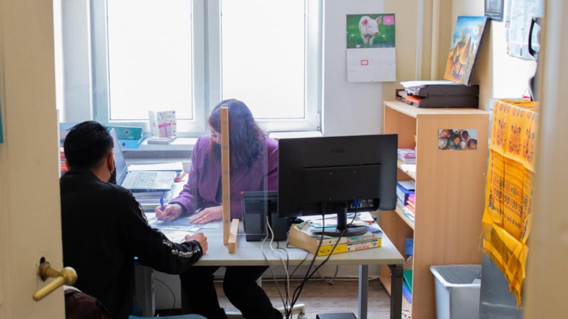 Caritas International België Casa legal: één adres voor sociale én juridische hulp