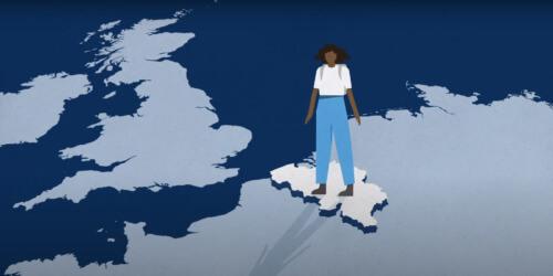 Caritas International België Een jongere op de vlucht. Waar heeft hij of zij recht op in België? Een video
